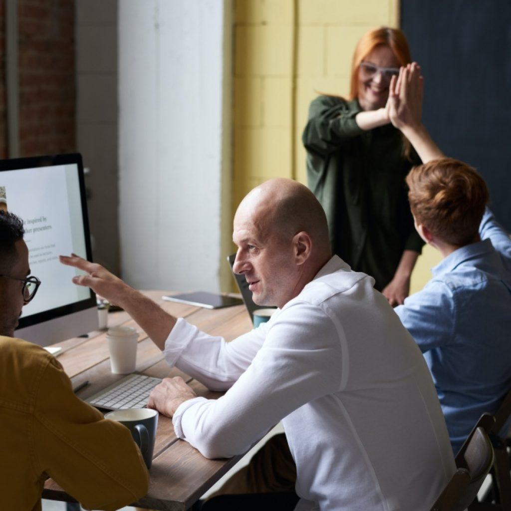 mensen die projectmatig werken